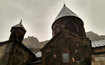 The Pagan Temple at Garni and the Geghard Monastery