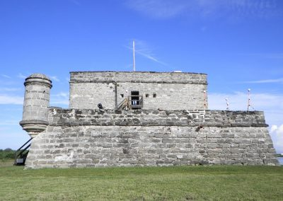 Terrestrial laser scanning of the Fort Matanzas National Monument