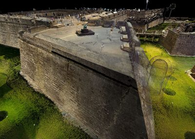 The Castillo de San Marcos National Monument Digital Documentation and Interpretation Program