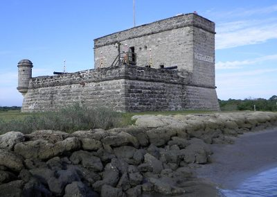 3D CAD and Historic Building Information Management of the Fort Matanzas National Landmark