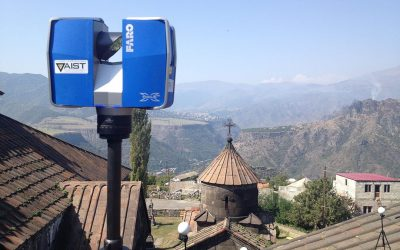 Lasers, drones, GPS, photographic techniques are helping to digitally preserve a World Heritage treasure in Armenia