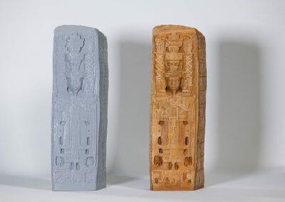 3D Printed Replica Quirigua Stela