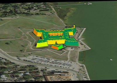 3D pointcloud with Aerial Imagery