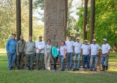 Quirigua Team photo with USF and Guatemala