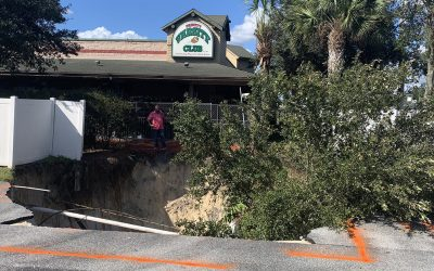 46 Feet Wide, 130 Feet Deep: A Depression in Pasco County Just Keeps Growing